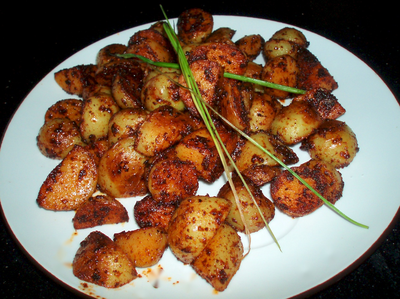 Smoked Paprika Roasted Potatoes Recipe — Dishmaps